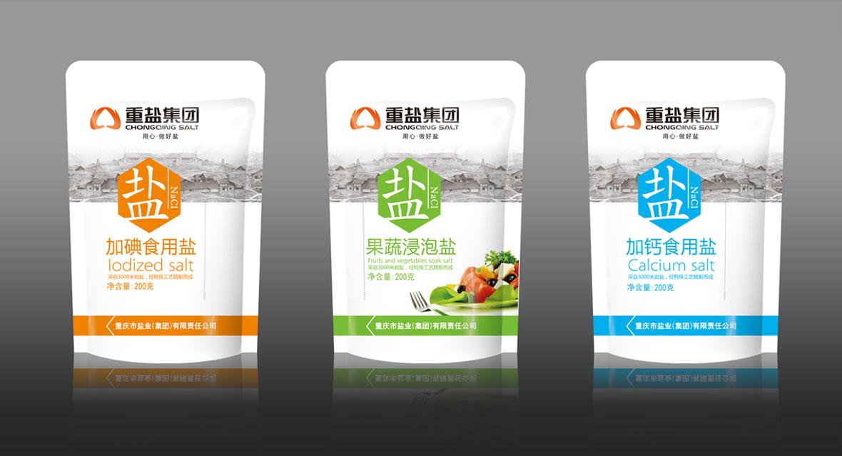 重盐集团碘盐包装-调味小菜-包装设计-作品集-海诺